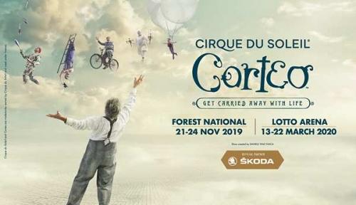 cirque du soleil corteo 23-11-2019