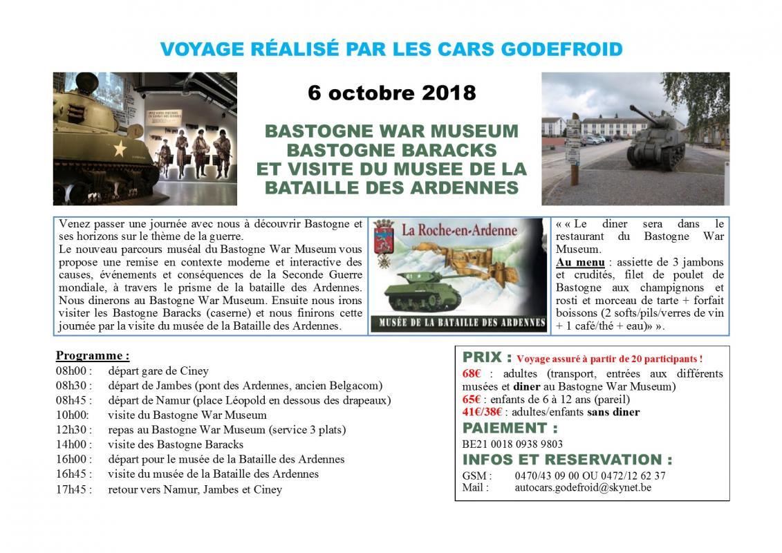 Affiche bastogne war museum 06102018