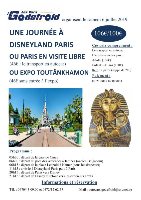 Affiche expo toutankhamon paris 6 juillet