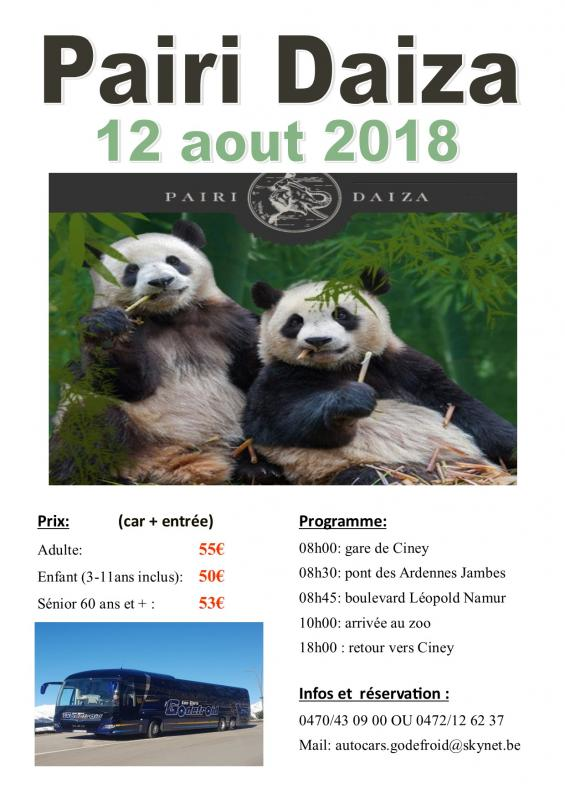Affiche pairi daiza 12082018