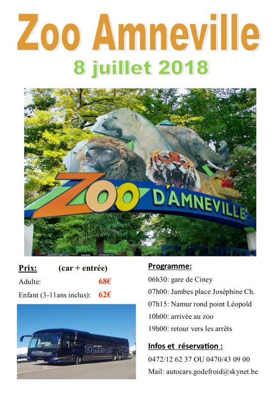 Affiche zoo amneville 080718