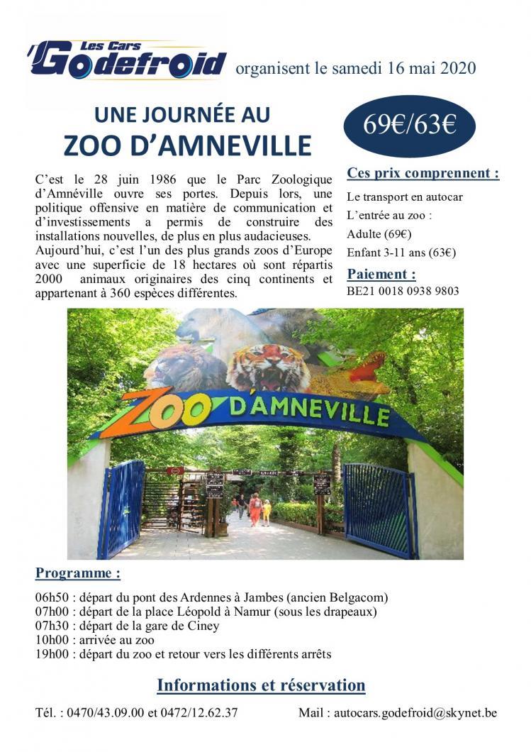 Affiche zoo amneville 16 mai