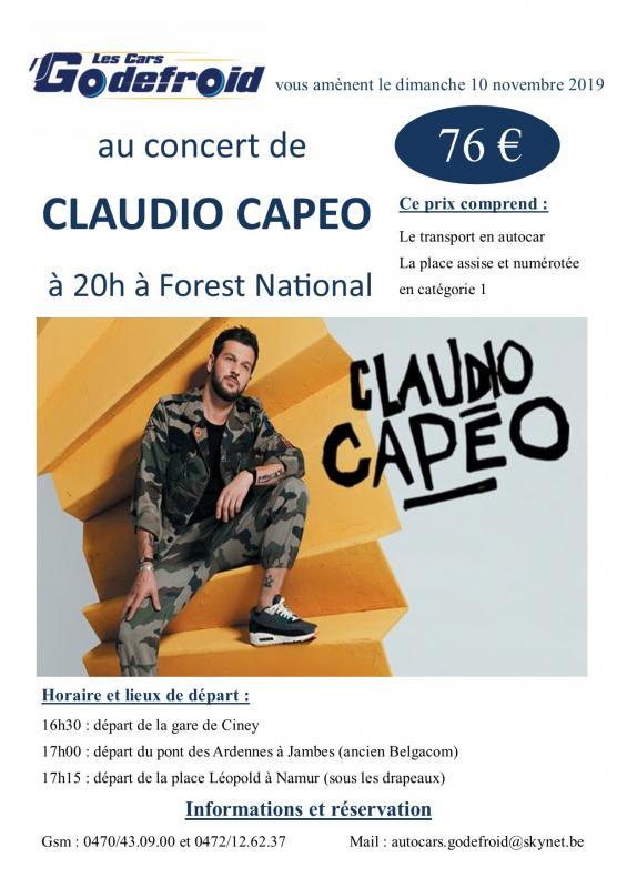 Claudio capeo concert