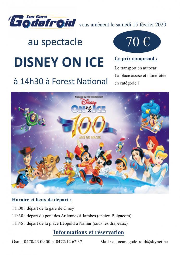Disney on ice spectacle 15 fev