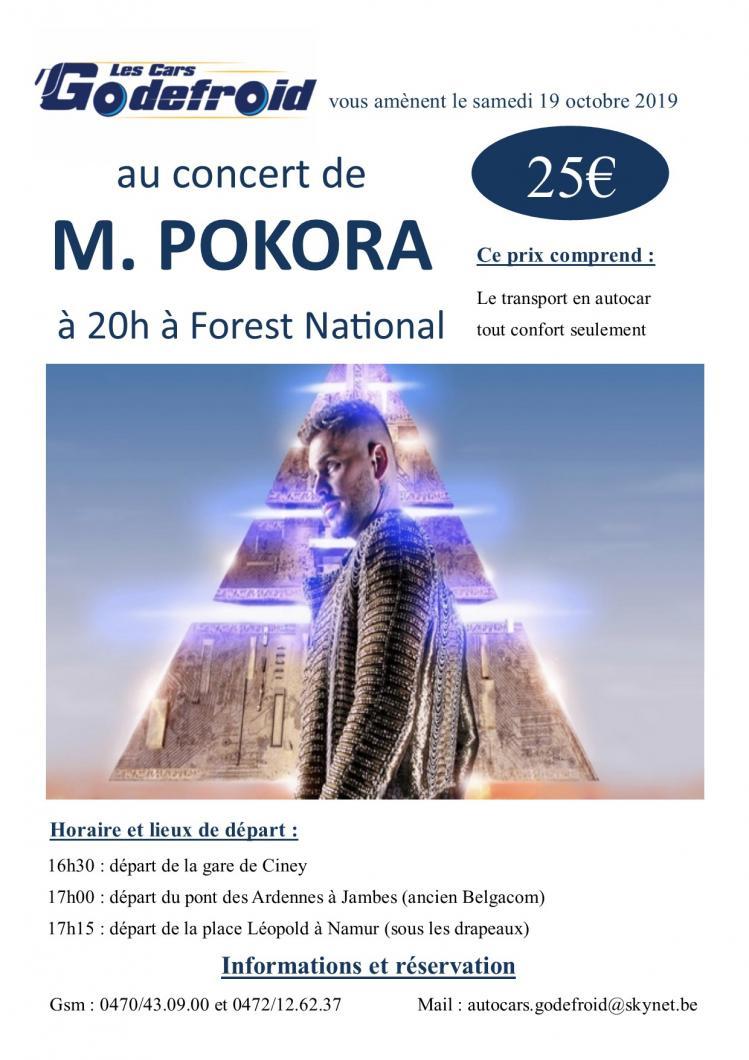 M pokora concert octobre 3