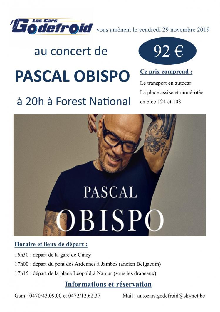 Pascal obispo concert 5
