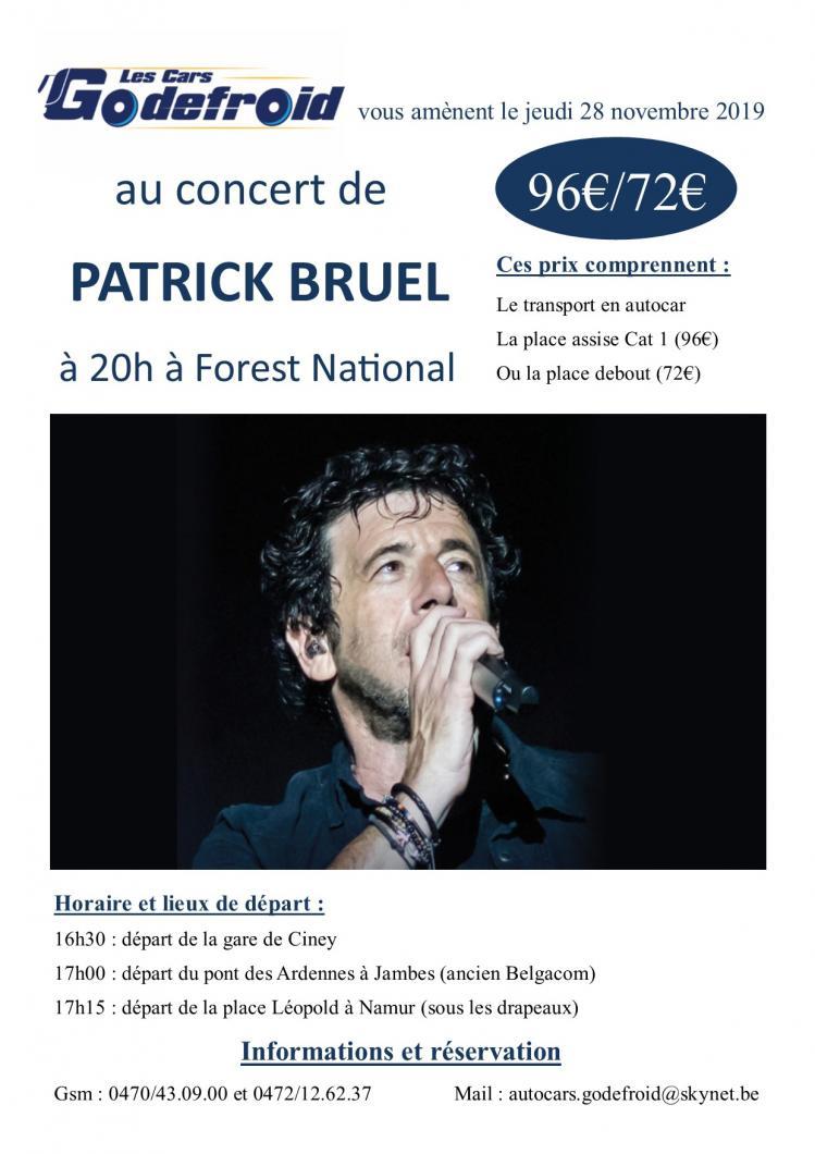 Patrick bruel concert novembre 1