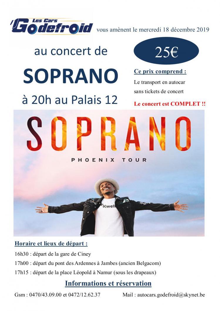 Soprano concert decembre 6