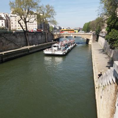 croisière voyage à paris avec hour animation