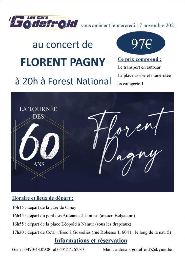 Florent pagny concert 17 novembre 2021