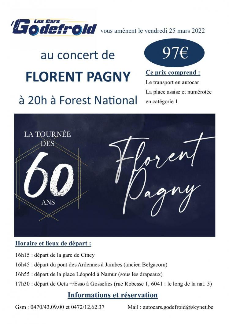 Florent pagny concert 25 mars 2022